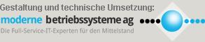 moderne betriebssysteme ag - Die Full-Service-IT-Experten für den den Mittelstand